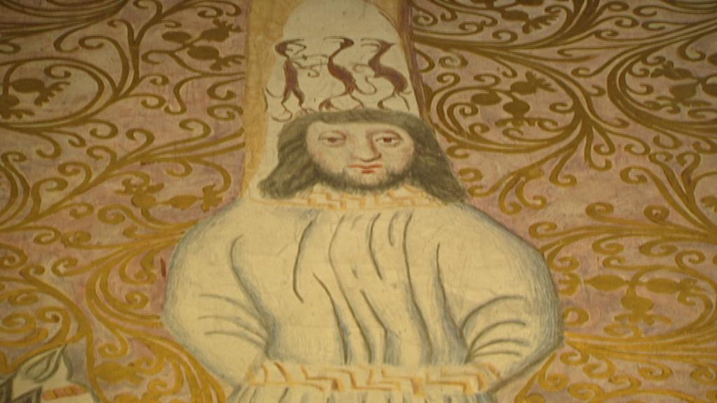 Mistr Jan Hus (vyobrazení v pražské Betlemské kapli)
