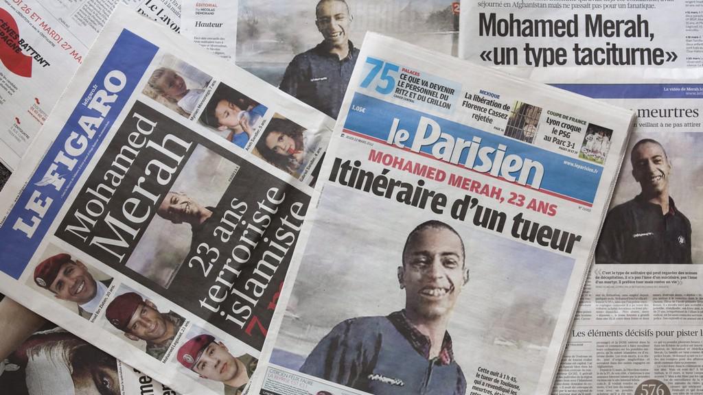 Francouzský tisk píše o útočníkovi z Toulouse