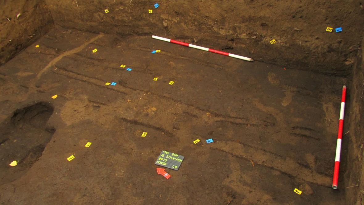 Brázdy odkryté v Bubenči