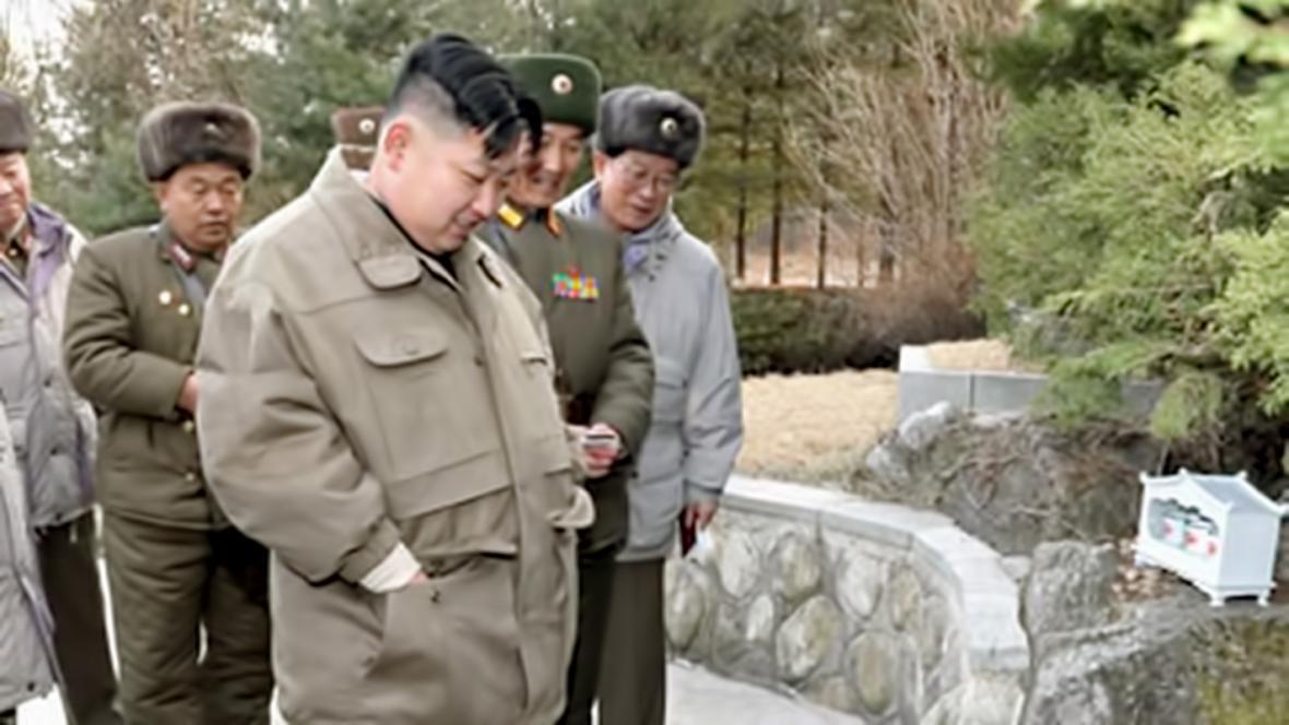 Kim Čong-un na inspekci