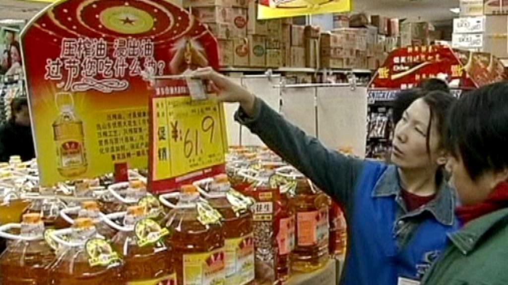 Nakupování v Číně