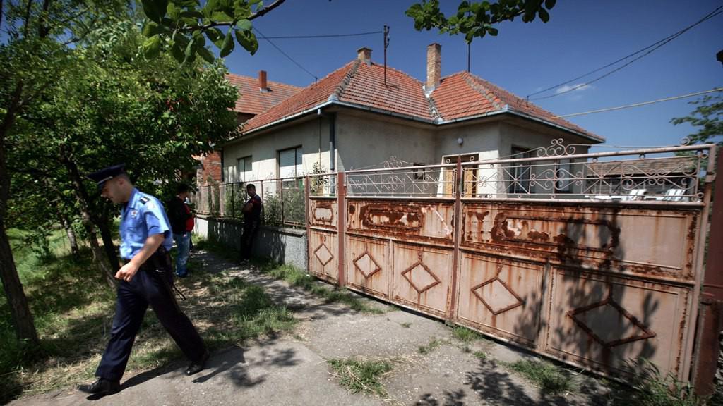Dům Mladićova bratrance v Lazarevu, kde byl zatčen srbskou policií