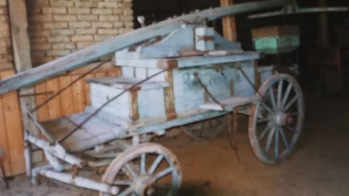 Původní vůz vanovických hasičů