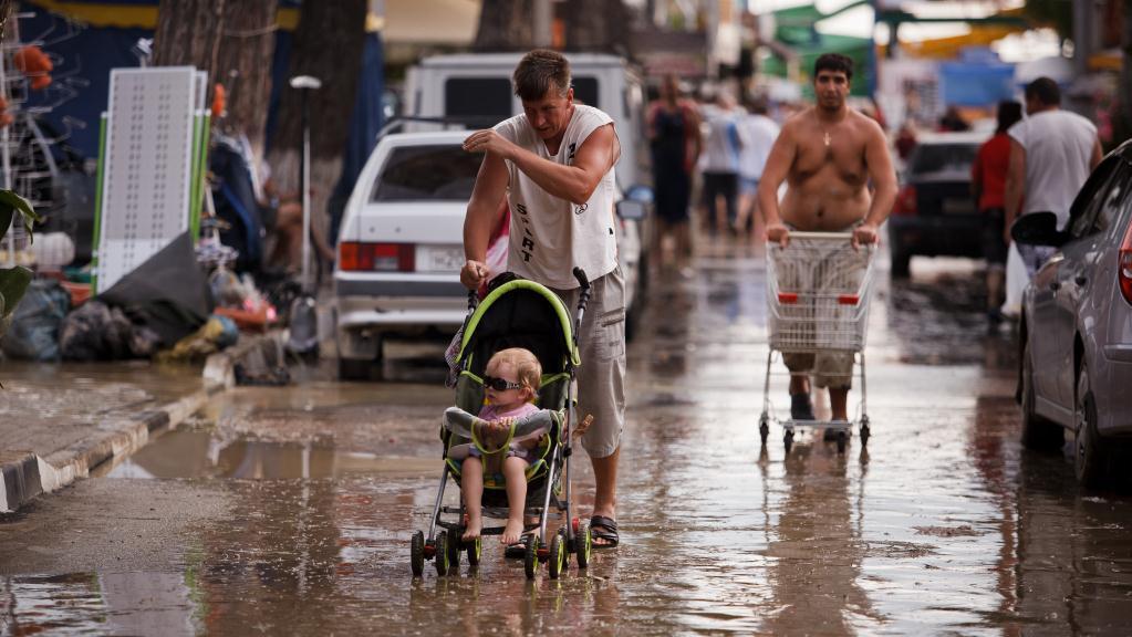 Povodně v Rusku