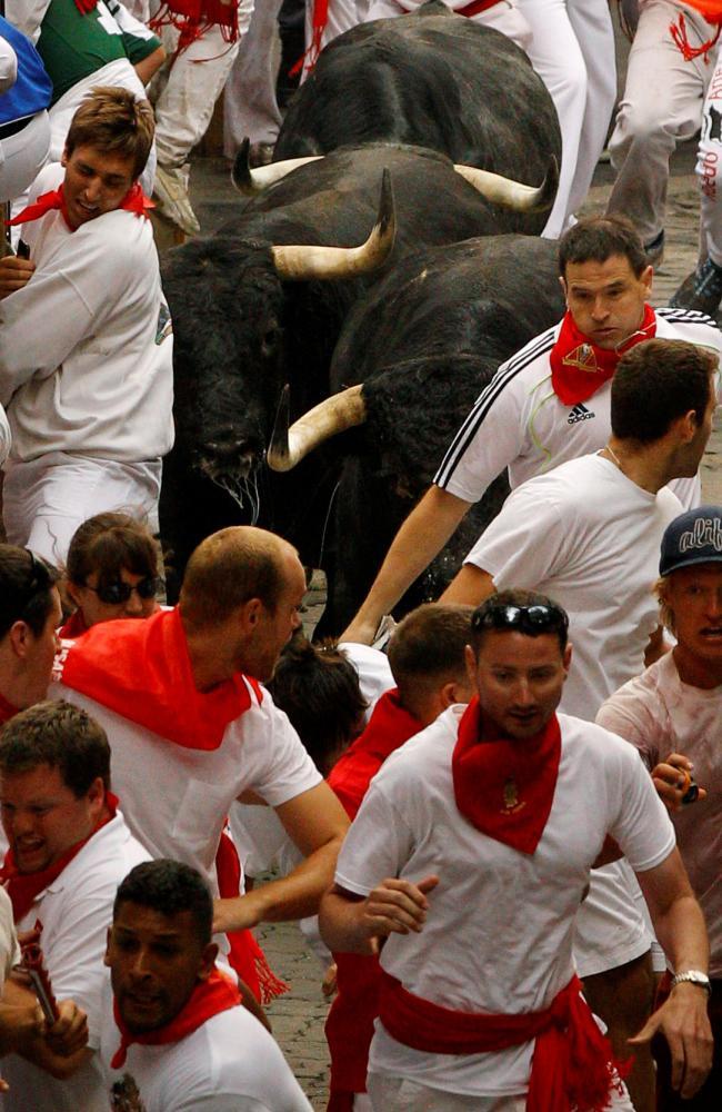 Běh s býky