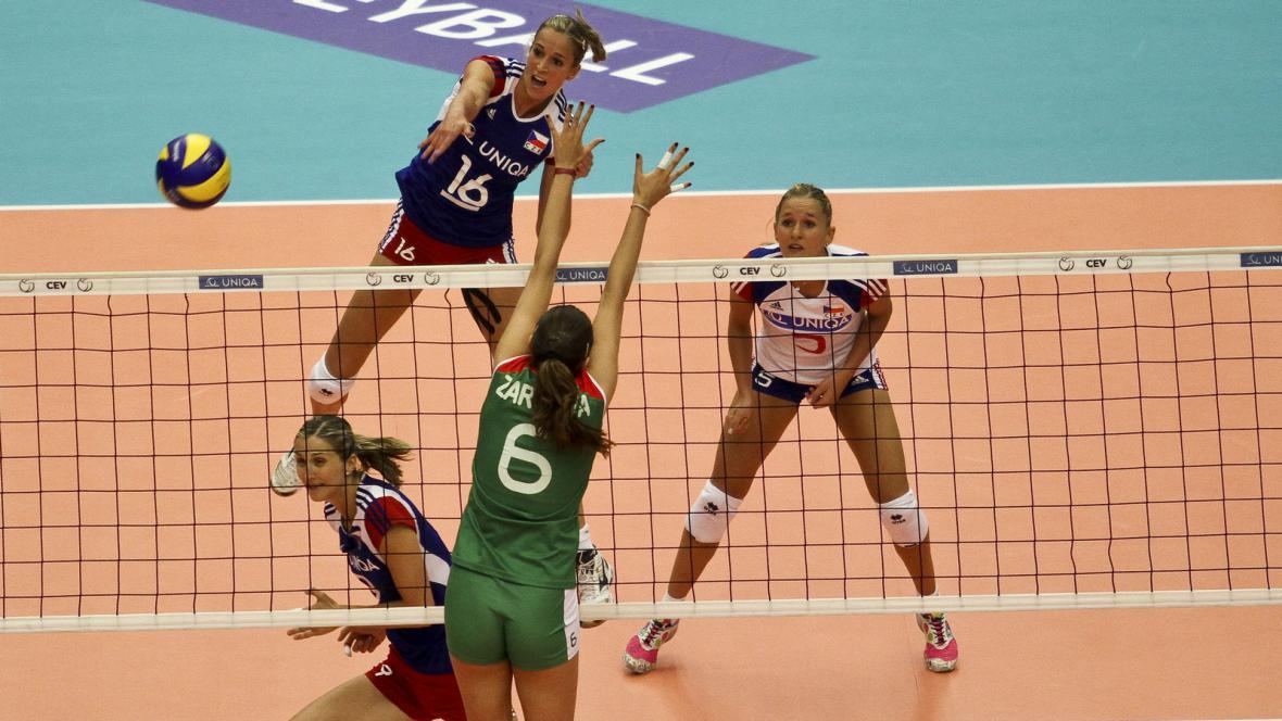 Utkání Česko - Bulharsko