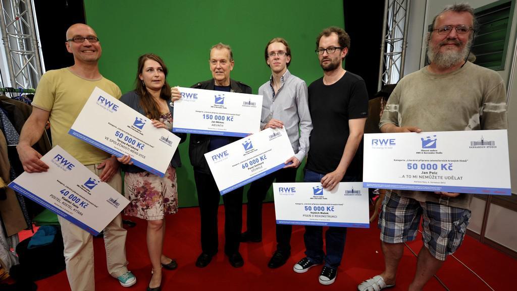 Vítězové prvního kola výběrového řízení nadace RWE & Barrandov Studio