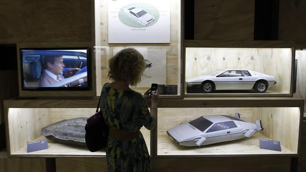 Z londýnské výstavy o Jamesi Bondovi