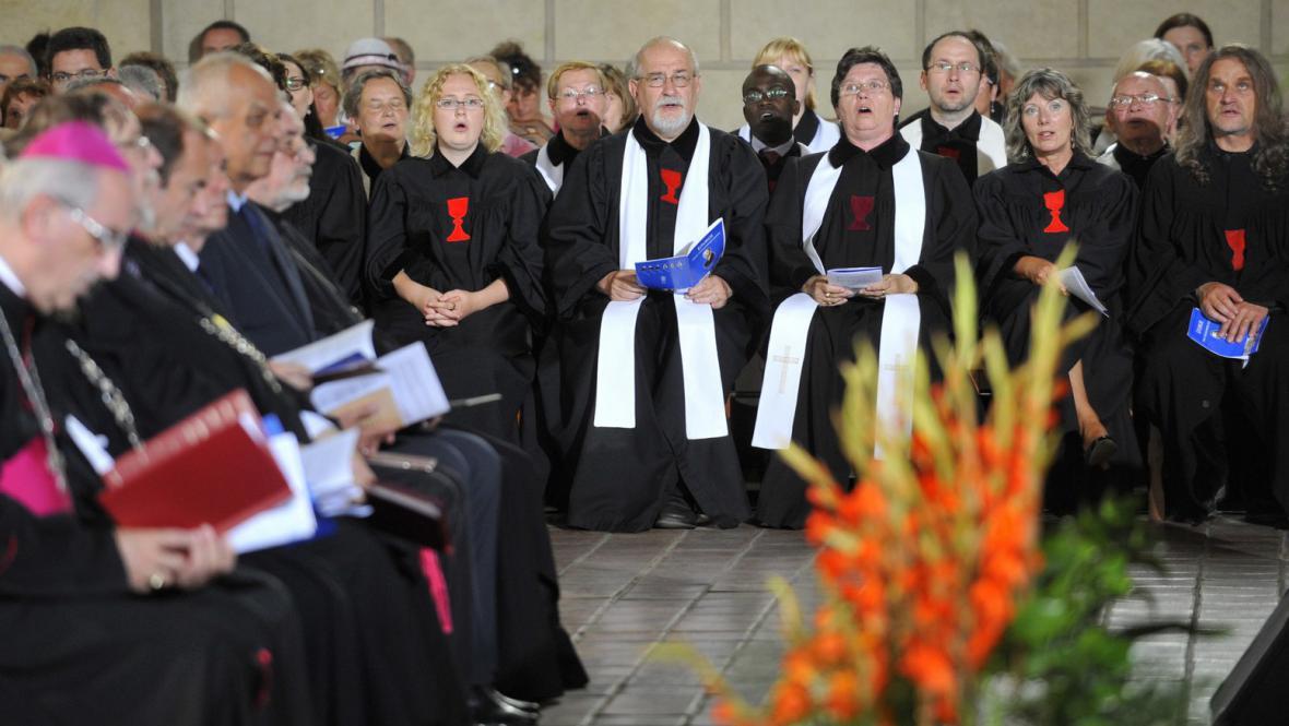 Bohoslužba k výročí upálení Jana Husa