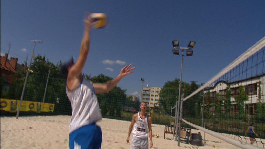 Plážový volejbal