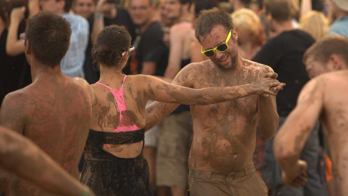 Bahenní tance na koncertu Flogging Molly