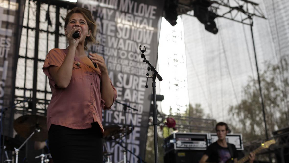 Selah Sue na Rock for People 2012