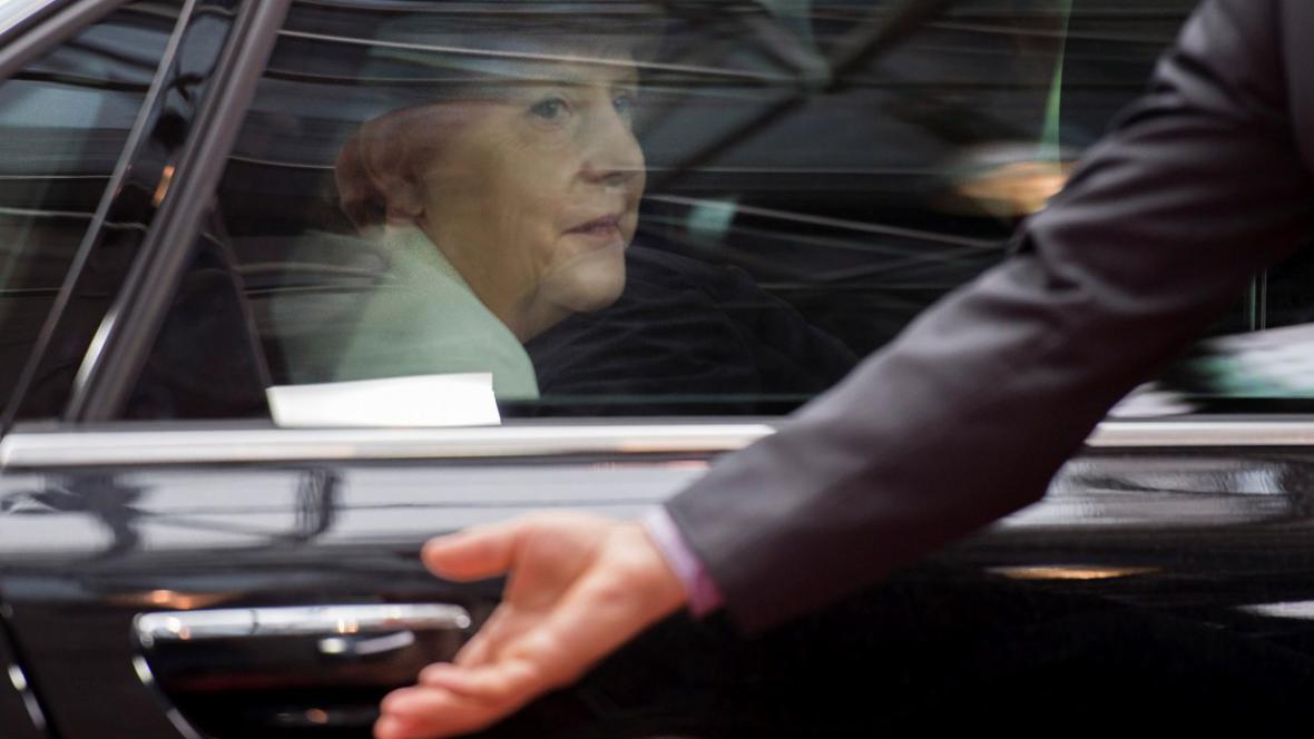 Angela Merkelová na summitu