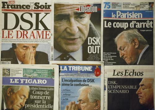 Tisk o kauze Strausse-Kahna