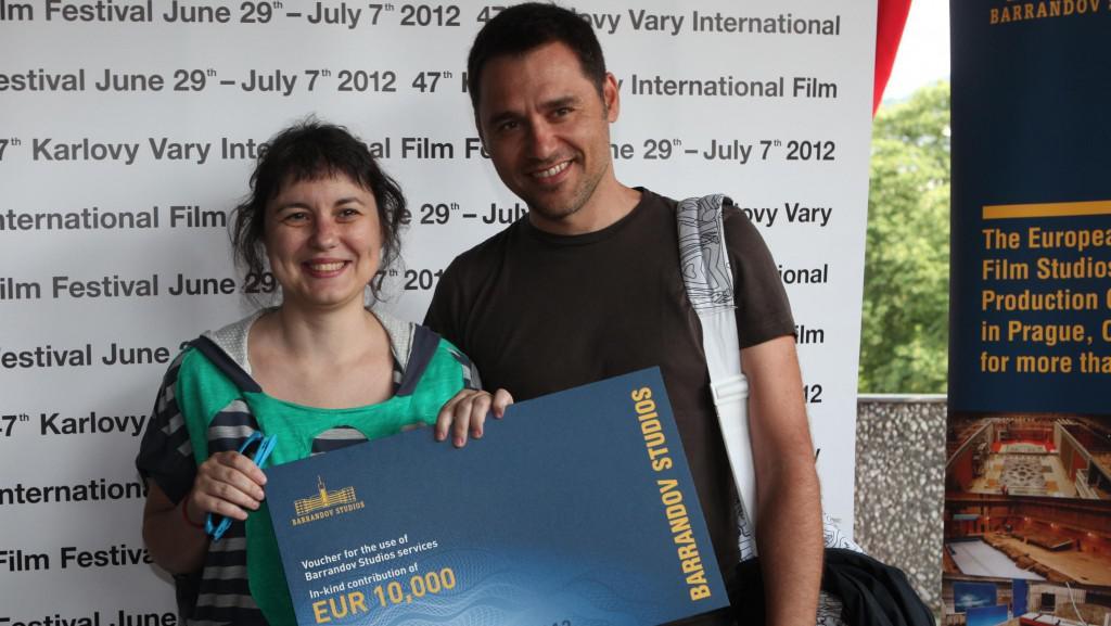 47. MFF KV: Vyhlášení nejlepšího projektu Works in Progress 2012