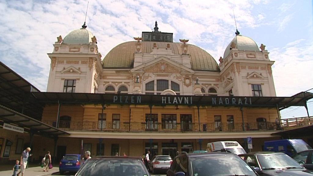 Hlavní nádraží v Plzni