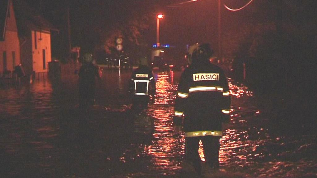 Zaplavená obec