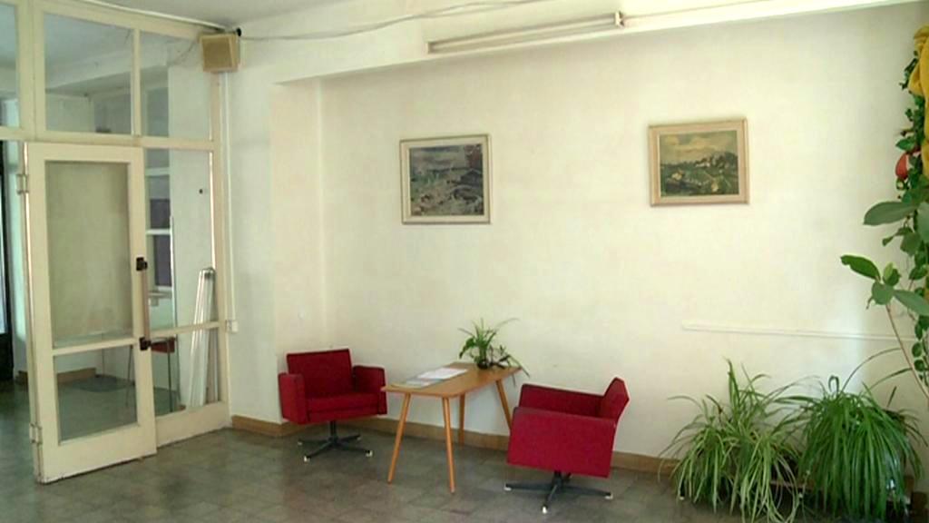 Interiér budovy bývalého Chemoprojektu