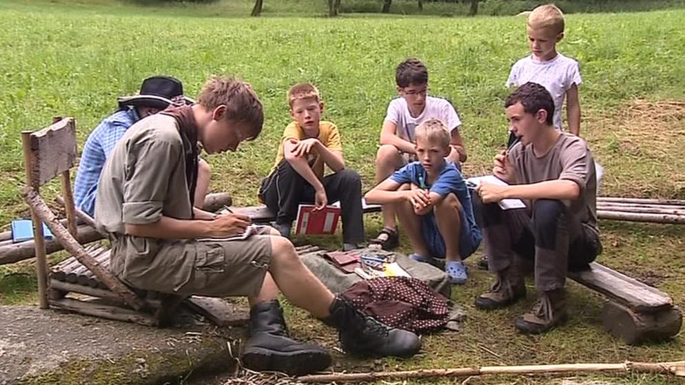Na předloňský tábor asi někteří skauti dlouho nezapomenou