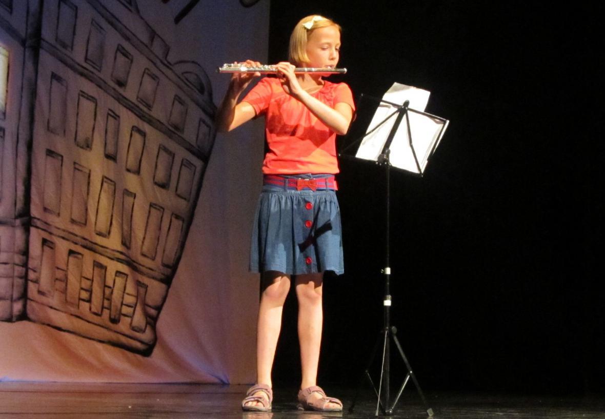 Školní akademie - flétna