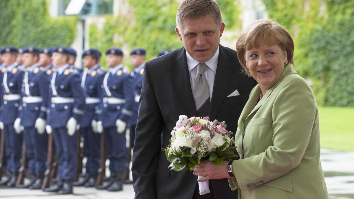 Merkelová a Fico