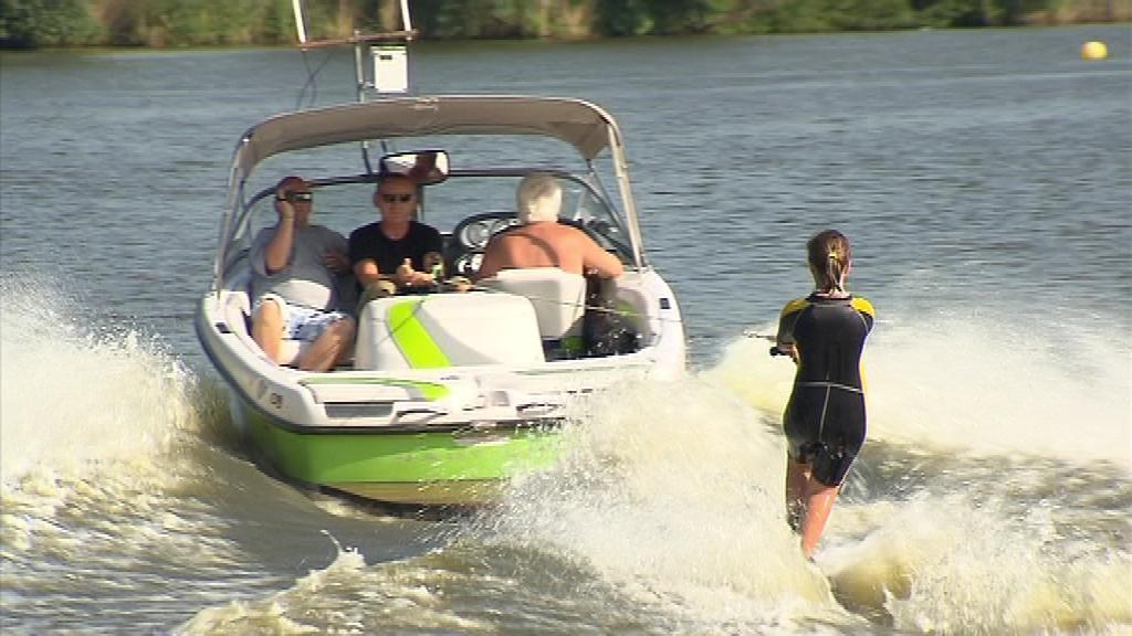 Vodní lyžaři se připravují na mistrovství Evropy