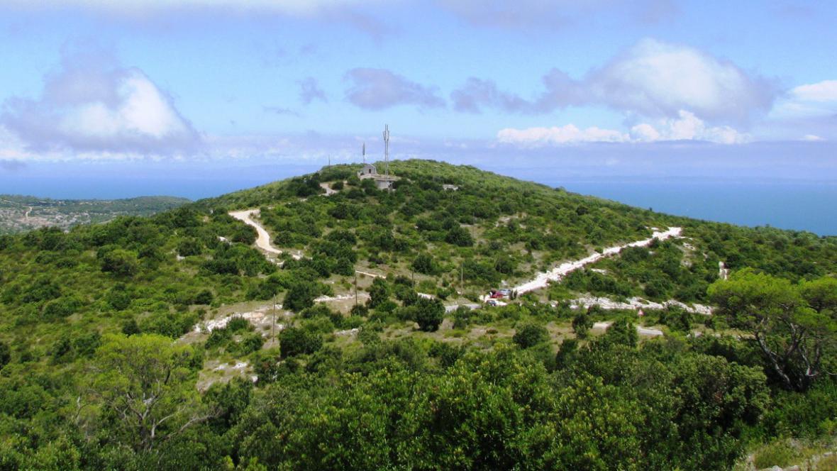 Hora Hum na ostrově Vis