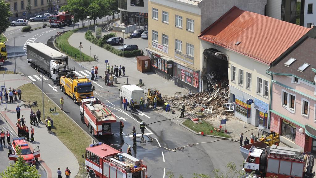Nehoda v Přerově