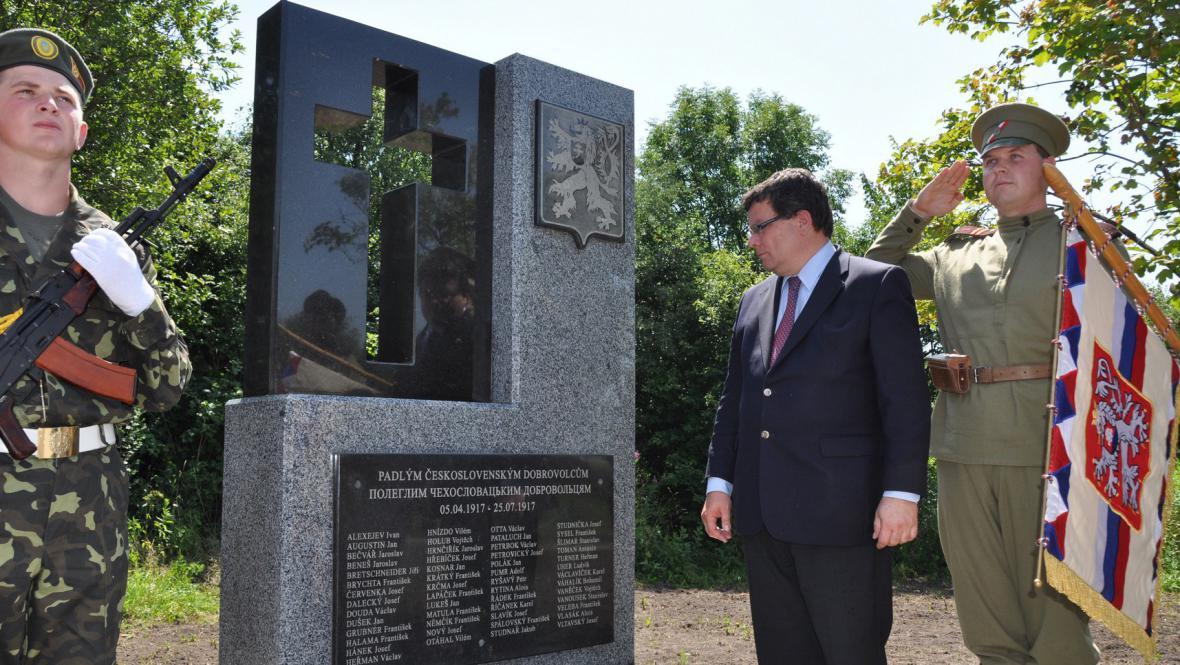 Památník legionářům padlým u Zborova