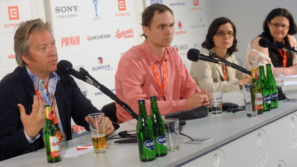 47.  MFF KV: Tisková konference k filmu Detektiv Down