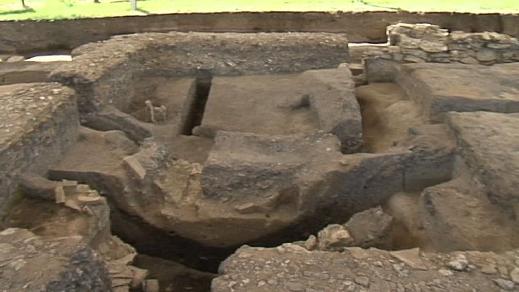 Archeologické naleziště v Mikulčicích
