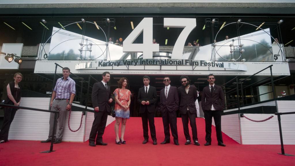 47. MFF KV: Delegace k filmu Na slaměné cestě