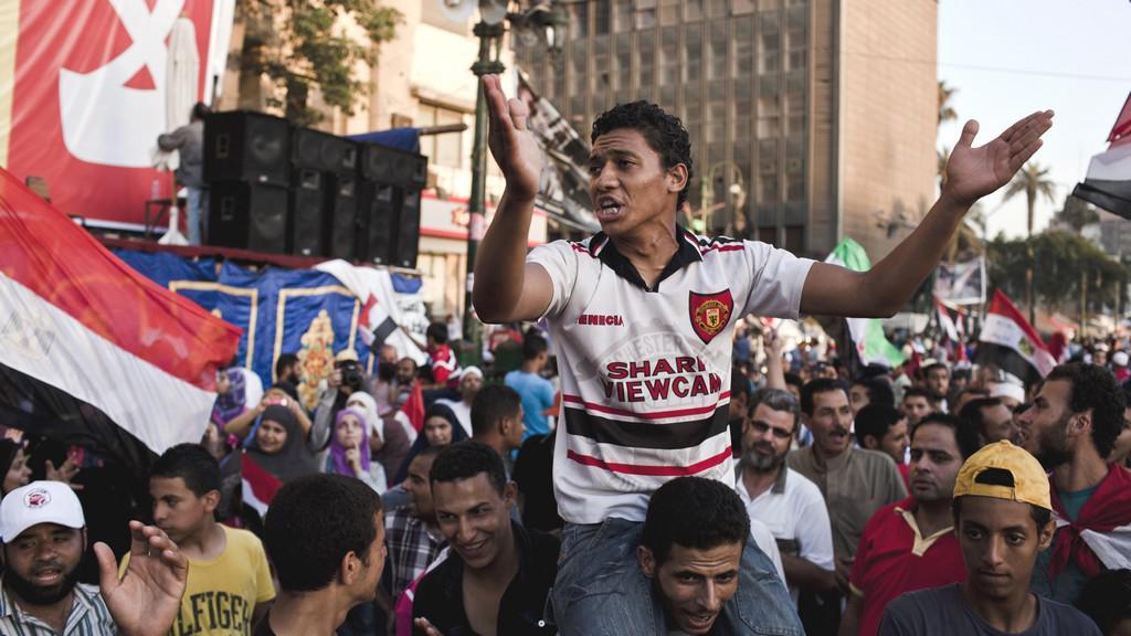 Egypťané vyjadřují podporu Mursímu