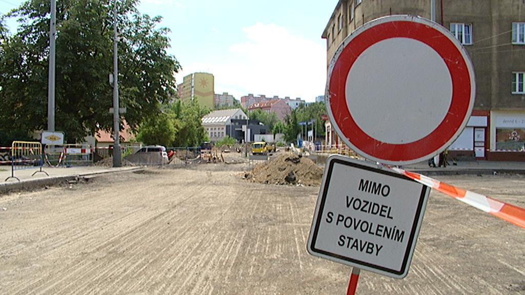 Dopravní omezení v Praze