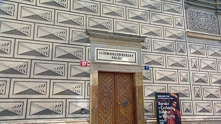 Schwarzenberský palác na Hradčanském náměstí v Praze