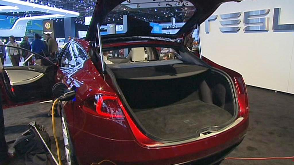 Model S automobilky Tesla Motors