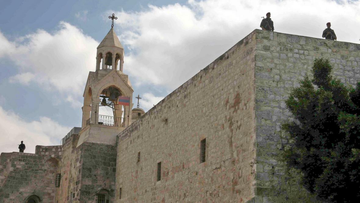 Chrám Narození Páně v Betlémě