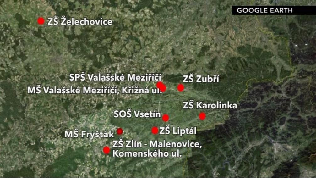 Na Zlínsku se s azbestem a vlákny minerálů potýkali v řadě škol a školek