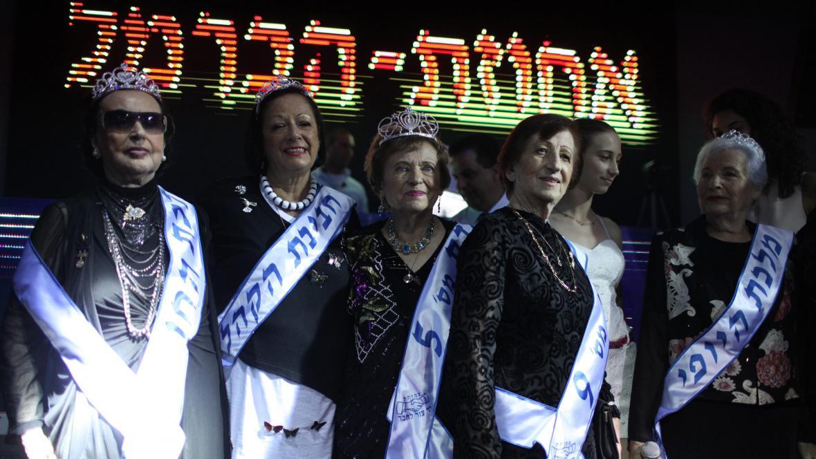 Účastnice soutěže krásy
