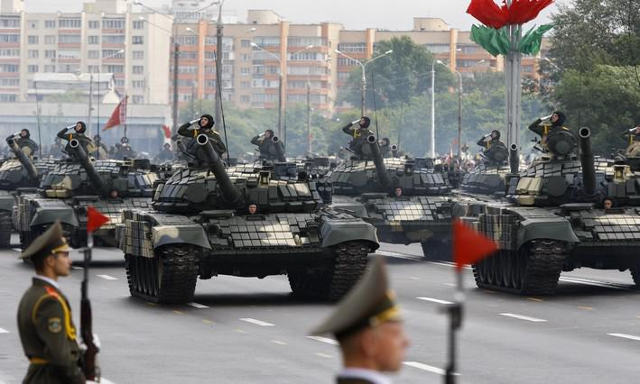 Vojenská přehlídka ke Dni nezávislosti