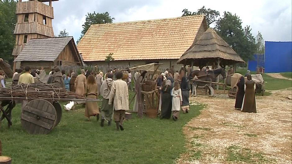 Natáčení filmu Cyril & Metoděj - Apoštolové Slovanů