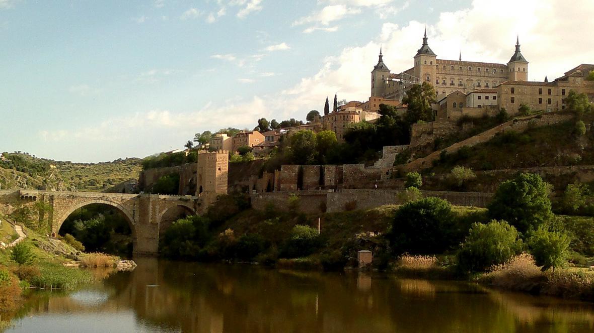 Toledo - malebné město nad řekou Tajo