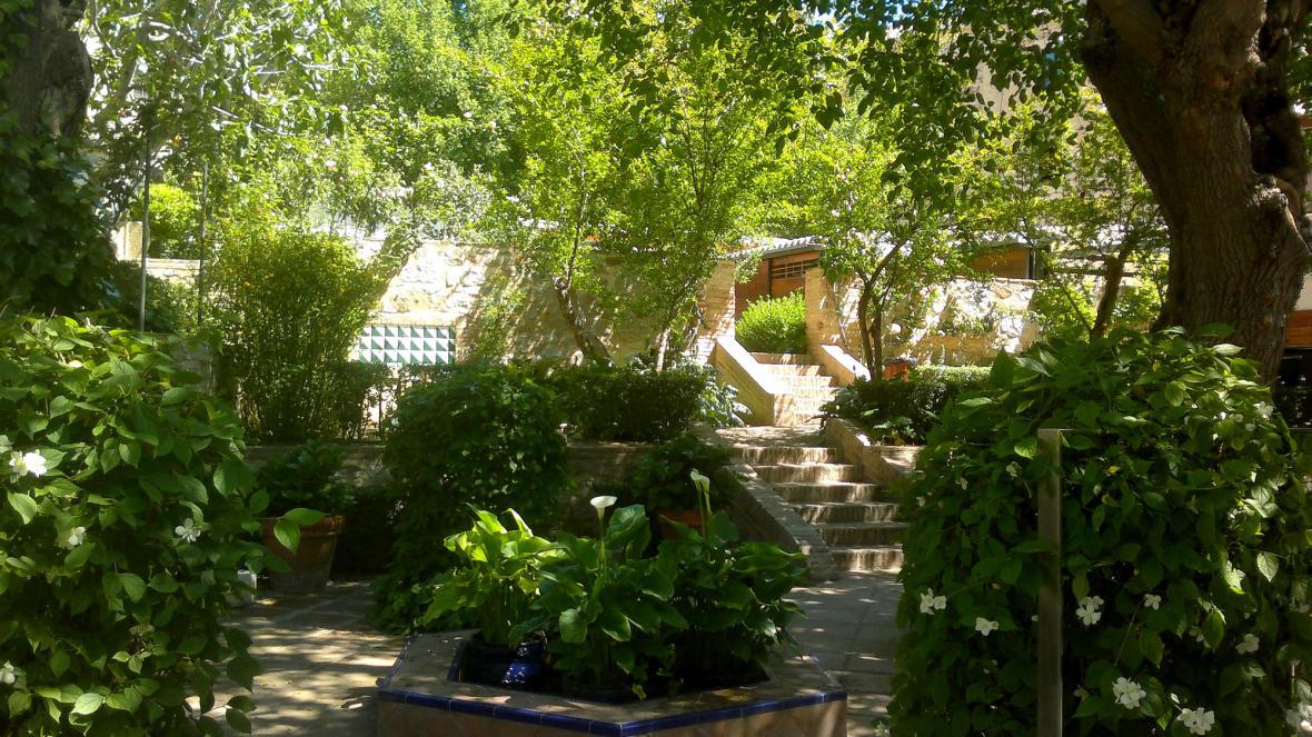 Zahrada El Grecova domu