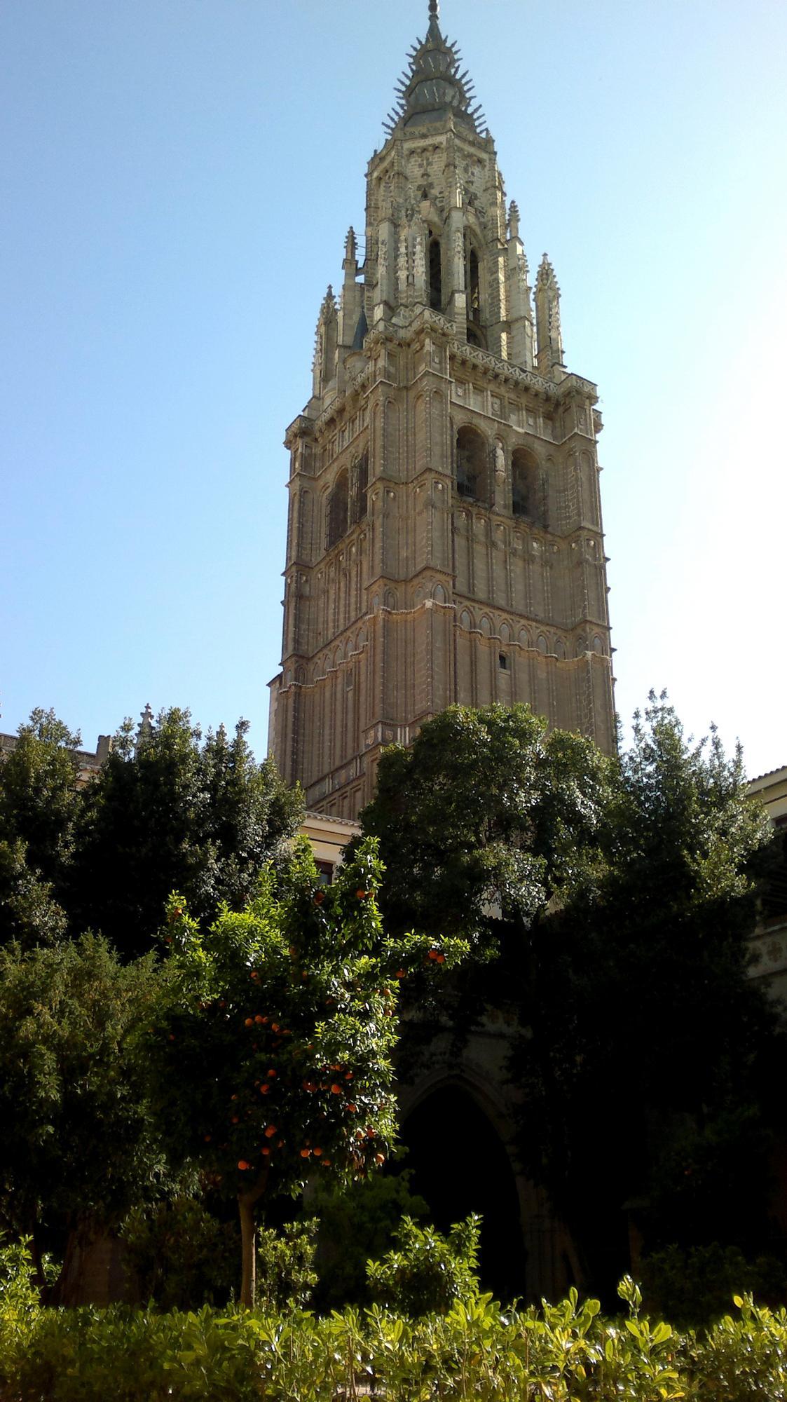 Věž monumentální toledské katedrály