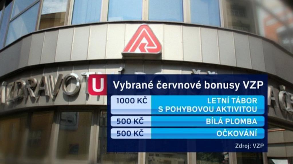 Červnové bonusy VZP