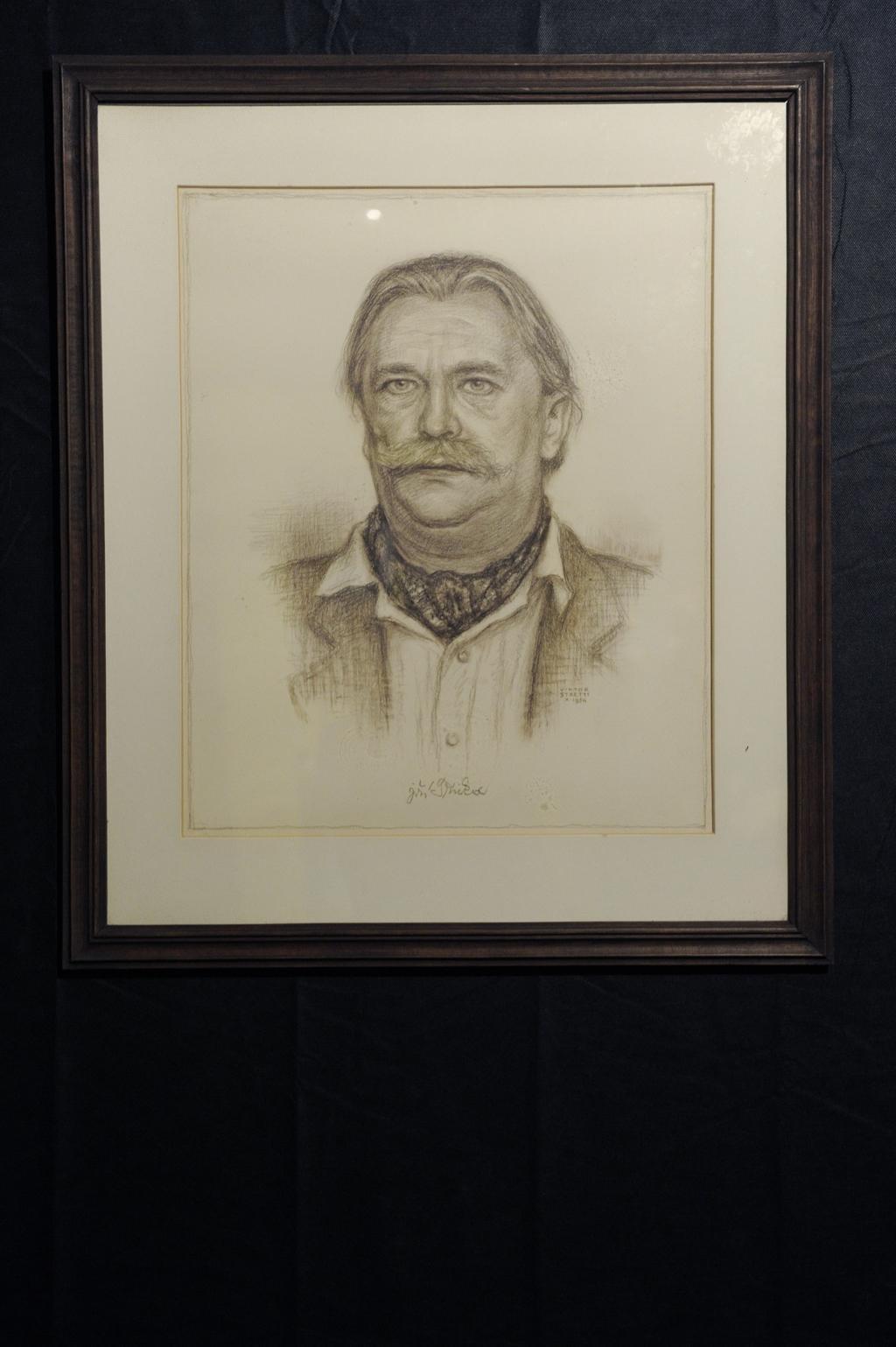 Portrét Jiřího Trnky od Viktora Strettiho