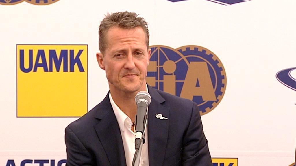 Michael Schumacher v Praze