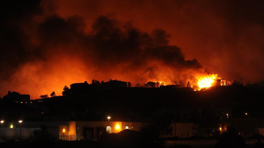 Požár u Colorado Springs