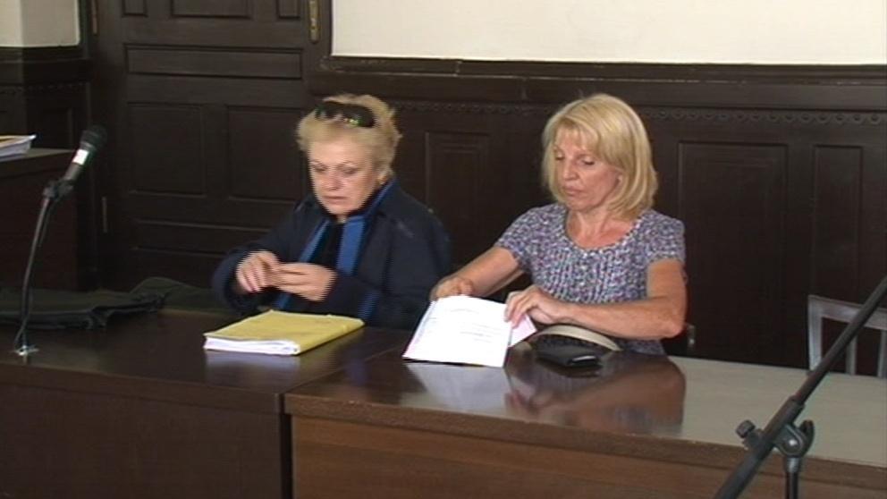 Eva Babičková u Krajského soudu v Brně