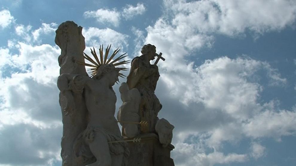 Opravená barokní památka